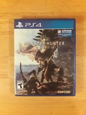 Monster Hunter World - PS4 Playstation 4