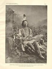 S. Dakota, Crow Creek & Lower Brule Agency, Chief Iron Nation, Brule Sioux, 1890