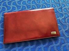 Vintage Men's Red Leather Wallet by Mano