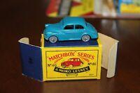 Matchbox Series Moko Lesney #46 Morris 1000 BLUE  !!!!!! & minty ORIGINAL  box