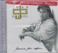 CD - Juan Gabriel NEW Gracias Por Esperar 11 Tracks Fast Shipping !