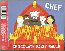 "CHEF - 5"" CD - Chocolate Salty Balls (3 Track) COLUMBIA. Isaac Hayes"