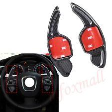 Carbon DSG Steering Wheel Shift Gear Paddle For Audi A1/3/4/5/8 S1/2/3/4/5/6/ TT