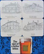Bierdeckel Serie England - Manchester Wilson's Brewery