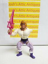 Prince Adam He-Man Figure With Sword 1984 Original Vintage Toy