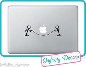 """Adesivo """"Omini che giocano"""" per MacBookPro/Air 13 -Stickers  MacBook"""
