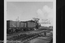 Victorian Railways Steam K156 leaving Dimboola Station for Jeparit March 1969