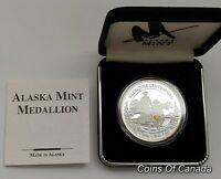 1898-1998 Alaska Mint Klondike Gold Rush Centennial 1 oz Silver #coinsofcanada