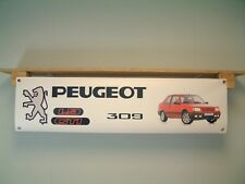 Peugeot 309 GTi BANNER Car Show workshop Garage Display