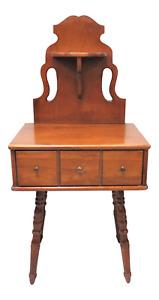 Unique Vintage Mid Century Colonial Maple Entry Piece Or Table