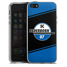 Apple iPhone 5 Silikon Hülle Case - SC Paderborn Streifen