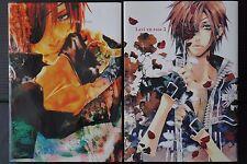 "JAPAN D.Gray-man Yaoi manga: Innocent Ash Extra ""Lavi en rose"" 1+2 Complete Set"