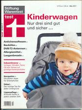 Stiftung Warentest 3/2017 Kinderwagen Antivirensoftware Lippenpflege Allergie
