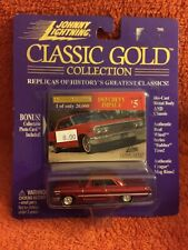 1963 CHEVY IMPALA   #5    JOHNNY LIGHTNING CLASSIC GOLD COLLECTION    1:64 1998