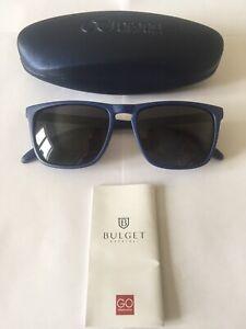 BULGET GENTS SUNGLASSES MODEL BG5047 D01 MATT BLUE WITH GREY POLARISED LENSES