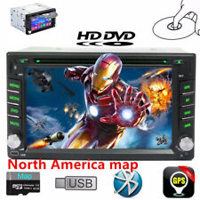 GPS Nav 2-DIN Car Stereo HD DVD Player Bluetooth iPod MP3 SD (North America)