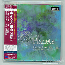 SHM SACD Karajan Vienna Philharmonic Holst :The Planets LimitedEdition Japan ver