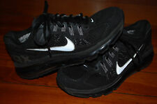 Women's Nike Air Max + 2013 Black/Gray/Reflective Silver Running Sneaker (6)