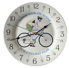 Beau Cadeau Pour Tout Motard Guy ou Ajouter tout nom ou votre vélo BARRY SHEENE Horloge