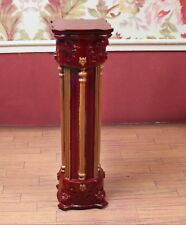 "Mahogany Column MUSEUM QUALITY DOLLHOUSE FURNITURE 1:12 or 1"" Scale BESPAQ"