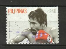 PHILIPPINES 2015 BOXING EMMANUEL MANNY PACQUIAO 40P EXTRACT SOUVENIR SHEET USED