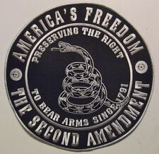 BIG 10 INCH 2ND AMENDMENT PATCH * PRESERVING THE RIGHT TO KEEP & BEAR ARMS