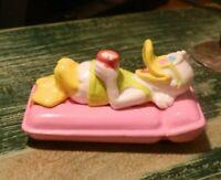 Vintage Disney Applause PVC Donald Duck Sunbathing on a Raft Figure