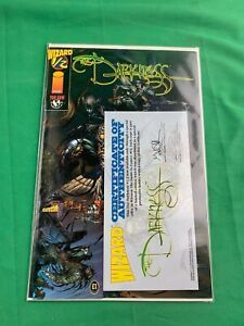 THE DARKNESS WIZARD 1/2 - WITH CERTIFICATE & CARD