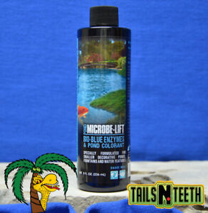 Microbe-Lift Bio-Blue Enzymes & Colourant 236ml ~ For Smaller Decorative Ponds
