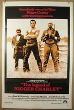 The LEGEND of NIGGER CHARLEY 1972 Authentic 1 Sheet Movie Poster Fred Williamson
