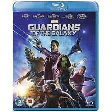 Guardians of The Galaxy Marvel 2014 Blu-ray Movie Film Rated 12