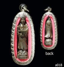 Thai Buddha Amulet Genuine god of Feng shui Talisman Rich Wealth Protect rare