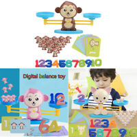 Lovely Monkey Balance Game Scale Early Learning Weight Doll Kids Intelligent Toy