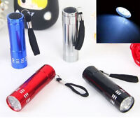 180 Lumen AAA Flashlight LED Waterproof Torch Lamp Light Lantern Camping Diving