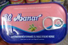 125 g EL MANAR MEDITERRANEAN SARDINES WITH VIRGIN OLIVE OIL TUNISIA