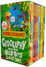Horrible Geography Collection 12 Books Box Set Pack Horrible Histories Series