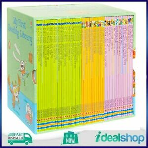 Usborne My First Reading Library, 50 Book Early Readers Library