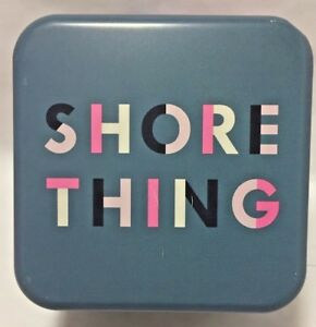 """Fossil Watch Tin NEW  """"Shore Thing"""" Theme FREE SHIP"""