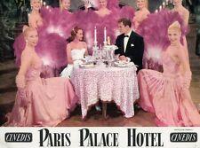 ROBERTO RISSO FRANcOISE ARNOUL PARIS PALACE HOTEL 1956 VINTAGE LOBBY CARD