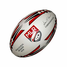 Major League Rugby Victor Elite Match Ball (Red and Black)