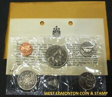 1968 UNCIRCULATED PROOF LIKE SET - CANADIAN 6-COIN SET - ENVELOPE & CERTIFICATE