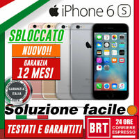NUOVO! SMARTPHONE APPLE IPHONE 6S 16GB 32GB 64GB 128GB ORIGINALE +GARANZIA! 24h!
