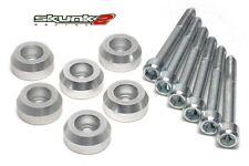 SKUNK2 Lower Control Arms Dress-Up Washers Clear 90-01 Integra/88-00 Civic EG