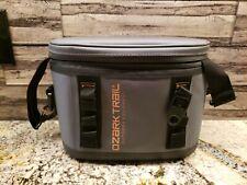 Ozark Trail 6-Can Premium Cooler With  Ykk Zipper, Gray NEW