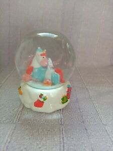 Unicorn Christmas Snow Globe New In Box Great Gift!