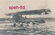 Originale Sanke Karte /   Flugzeug,   Aviatik Doppeldecker