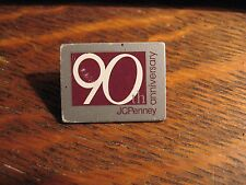 JCPenney 1992 Lapel Pin - Vintage JC Penney Department Store 90th Anniversary