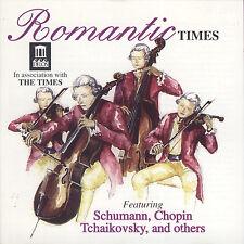 ROMANTIC TIMES -  CD (1994) SCHUMANN CHOPIN GRIEG PAGANINI WAGNER BRAHMS LISZT