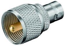 BNC Adapter BNC Kupplung auf UHF Stecker