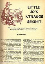 Little Jo Monoghan's Strange Secret of Ruby City, Idah